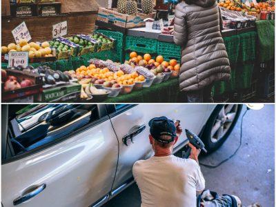 Comércio por grosso e a retalho; reparação de veículos automóveis e motociclos